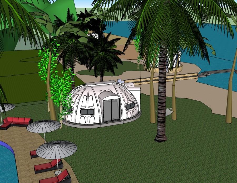 Fiberglass Domes 183 Cassagnol Composites
